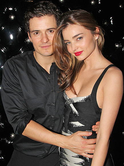 PLAY TIME photo | Miranda Kerr, Orlando Bloom