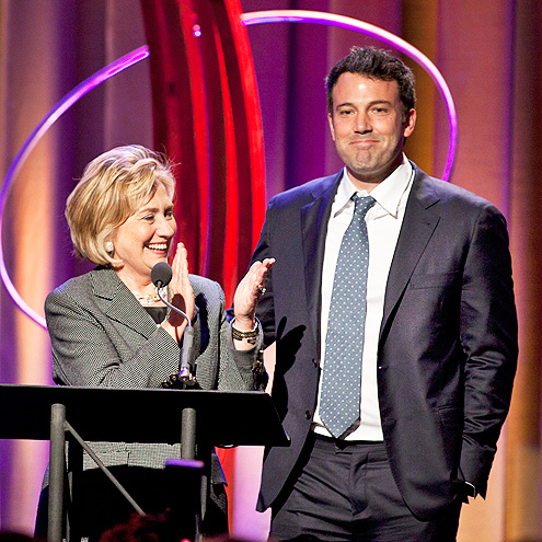 NAME CALLING photo | Ben Affleck, Hillary Rodham Clinton