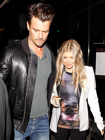 EATING OUT photo | Fergie, Josh Duhamel