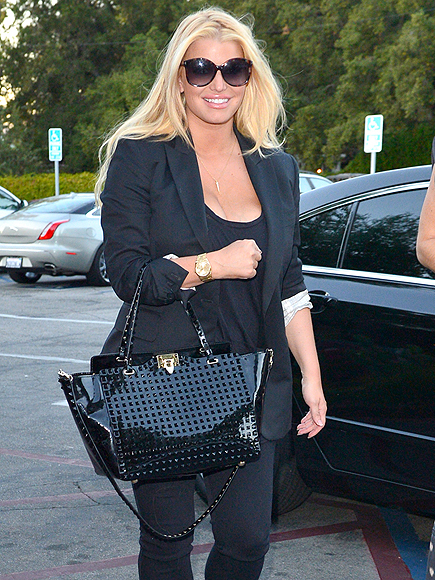 BLACK IN ACTION photo | Jessica Simpson