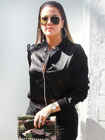 SLICK EXIT photo | Khloe Kardashian