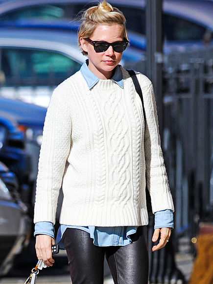 SWEATER WEATHER photo | Michelle Williams