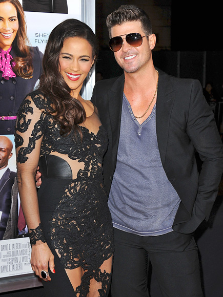 SHEER HAPPINESS photo | Paula Patton, Robin Thicke