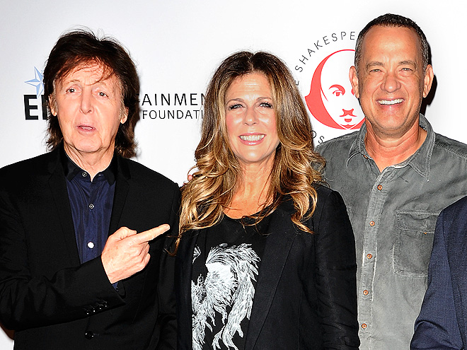WELL READ photo | Paul McCartney, Rita Wilson, Tom Hanks