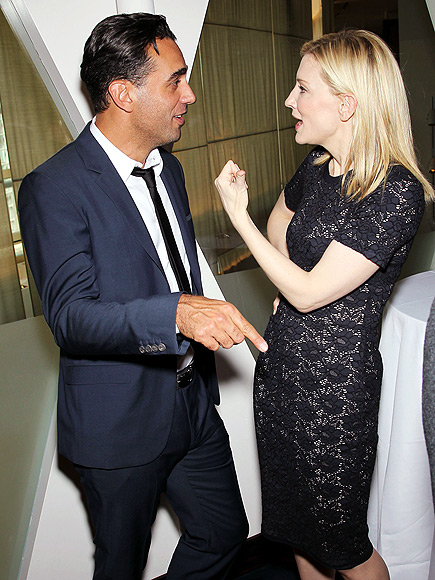 FACE TIME photo | Bobby Cannavale, Cate Blanchett