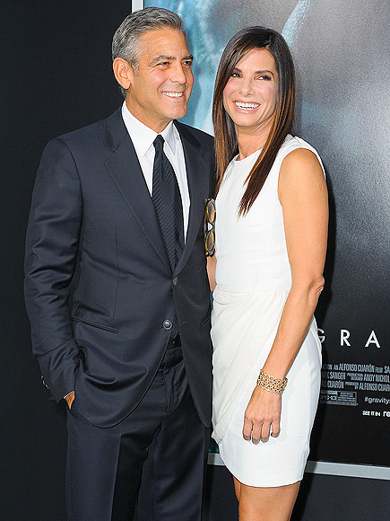 EARTH ANGEL photo | George Clooney, Sandra Bullock
