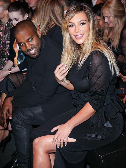 FRONT-ROW FABULOUS photo | Kanye West, Kim Kardashian