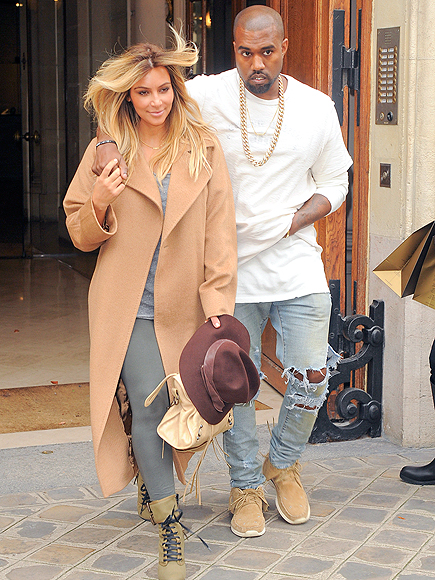 PARIS photo | Kanye West, Kim Kardashian