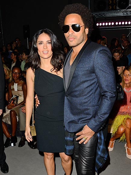 WELL DRESSED photo | Lenny Kravitz, Salma Hayek