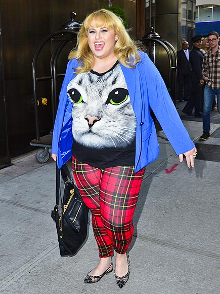 CAT GOT YOUR TONGUE? photo | Rebel Wilson