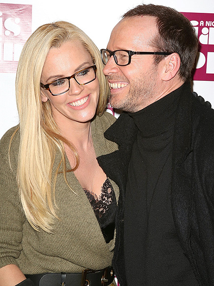 GLASS ACT photo | Donnie Wahlberg, Jenny McCarthy