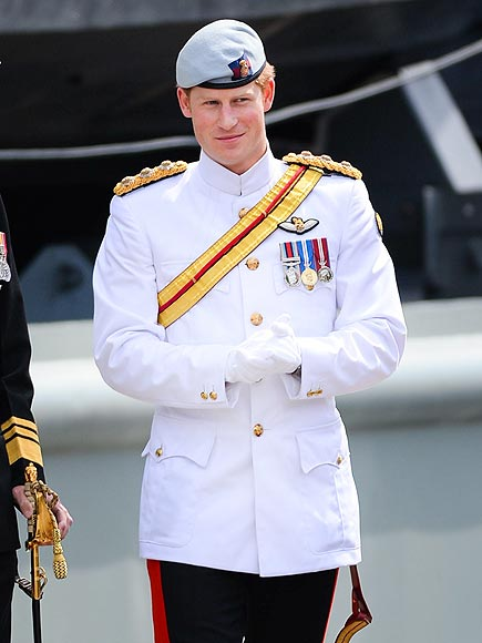 VISION IN WHITE photo | Prince Harry