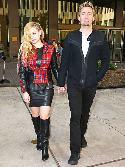 TO HAVE & TO HOLD photo | Avril Lavigne, Chad Kroeger