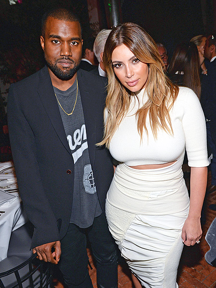 COORDINATING COUPLE photo | Kanye West, Kim Kardashian