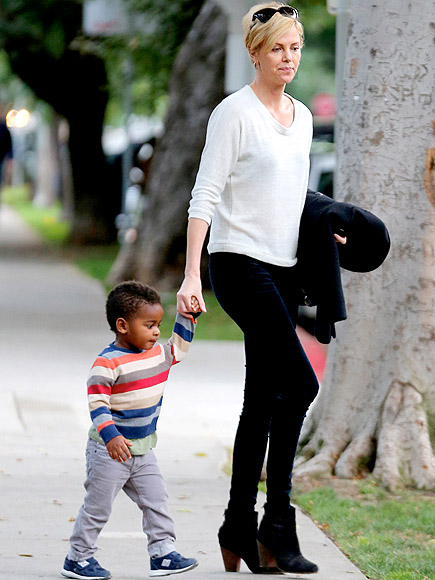 STRIPES UP! photo   Charlize Theron