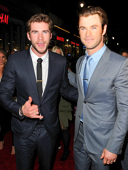 THE EYES HAVE IT photo | Chris Hemsworth, Liam Hemsworth