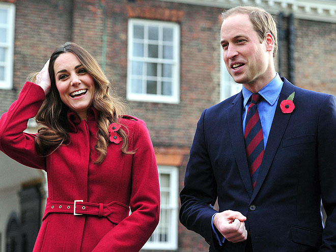 A 'POPPY' OF COLOR photo | Kate Middleton, Prince William
