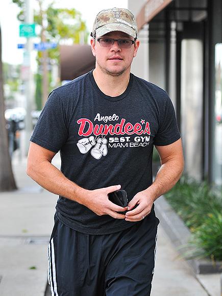 BOSTON STRONG photo | Matt Damon