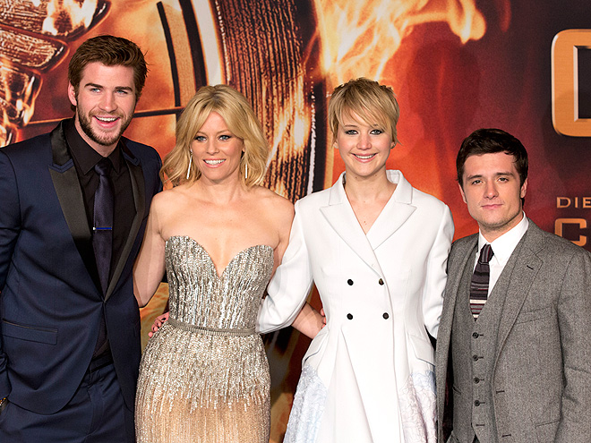 FANTASTIC FOUR photo | Jennifer Lawrence, Josh Hutcherson, Liam Hemsworth