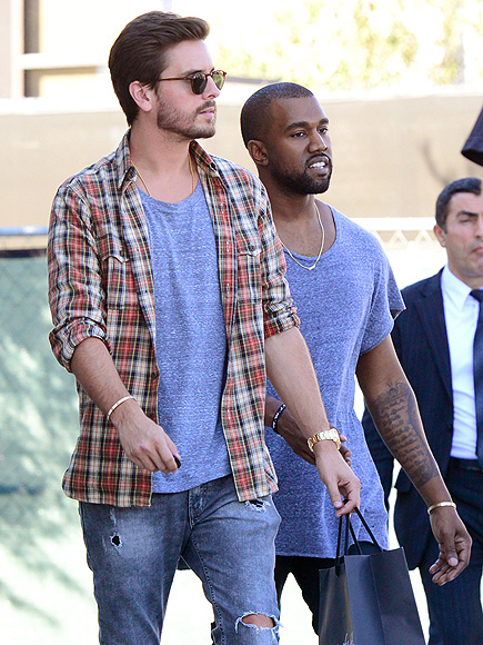 ALL IN THE FAMILY photo | Kanye West, Scott Disick