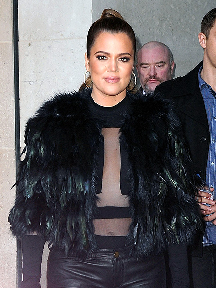 SKIN IS IN photo | Khloe Kardashian