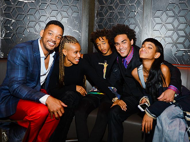 PARTY OF FIVE photo | Jada Pinkett Smith, Jaden Smith, Will Smith