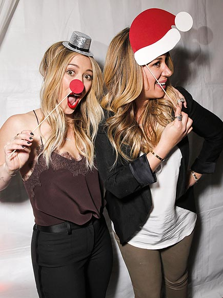 GOOD TIDINGS photo | Haylie Duff, Hilary Duff
