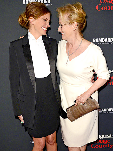 COMPARE & CONTRAST photo | Julia Roberts, Meryl Streep