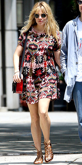 ASOS DRESS photo | Sienna Miller