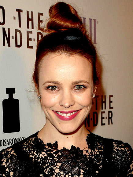 RACHEL'S CUH-RAZY HIGH BUN photo | Rachel McAdams