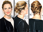 Red Carpet Hair From Every Angle | Drew Barrymore