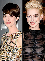 New Cut! New Color! Vote on Hollywood&#39;s Big Hair Changes | Anne Hathaway
