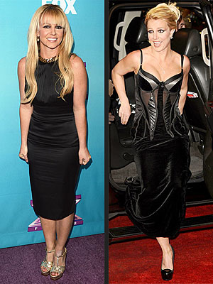 Britney Spears Black Dresses
