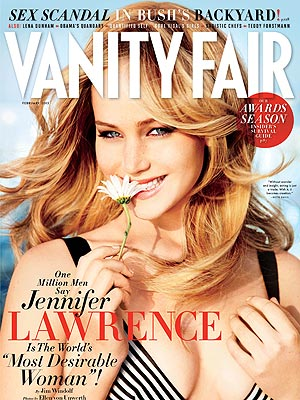 jennifer lawrence 2 300x400 Jennifer Lawrence Flashback: From Unknown Actress to 'Vanity Fair' Cover Girl