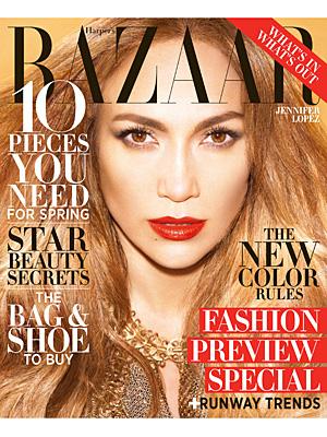 Jennifer Lopez Harper's Bazaar