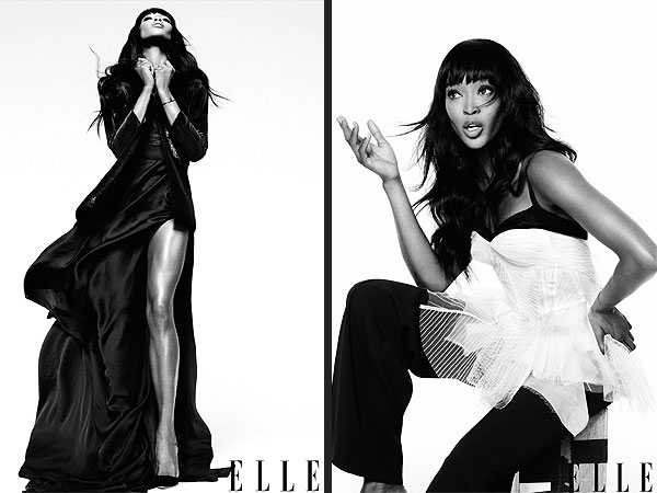 Naomi Campbell ELLE