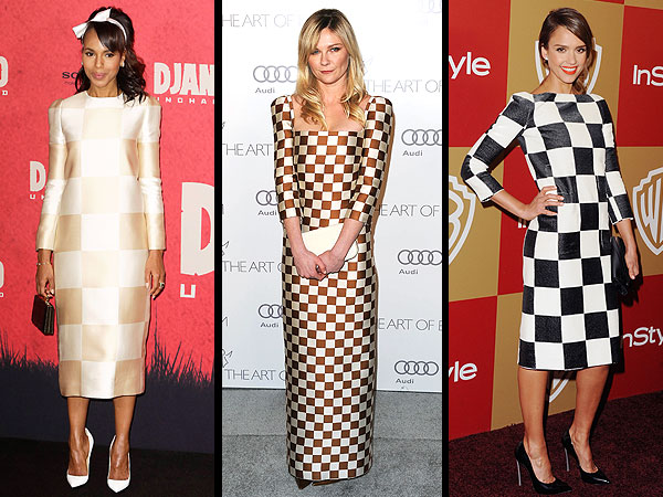 Jessica Alba, Kerry Washington, Kirsten Dunst, Louis Vuitton