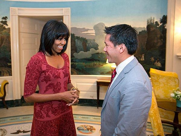 Michelle Obama s new hairdo