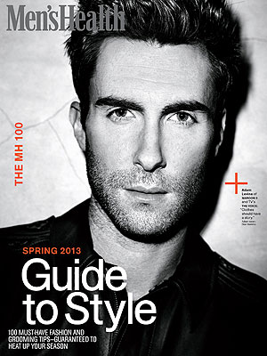 Adam Levine Men's Health Cover