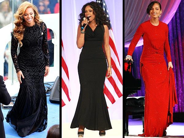 Beyonce, Jennifer Hudson, Alicia Keys