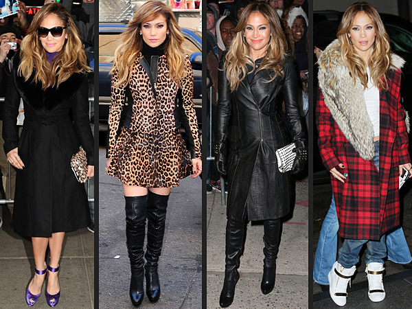 Jennifer Lopez Coats