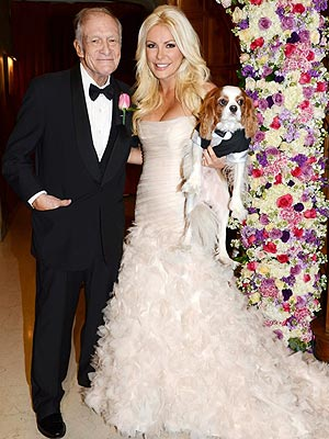 Hugh Hefner Crystal Harris Wedding Dress Auction