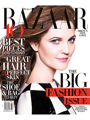 Drew Barrymore Harper's Bazaar