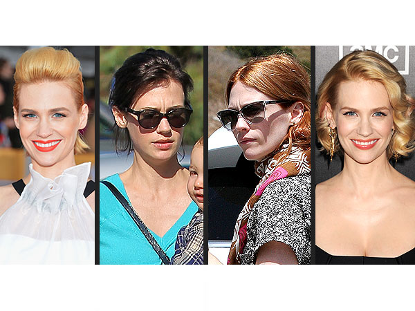 january jones 600x450 January Jones: 'My Hair Is Falling Out in Clumps'