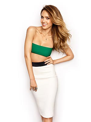 Jessica Alba Women's Health Cover