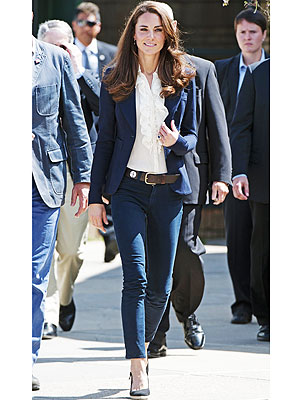 Kate Middleton, Jeans