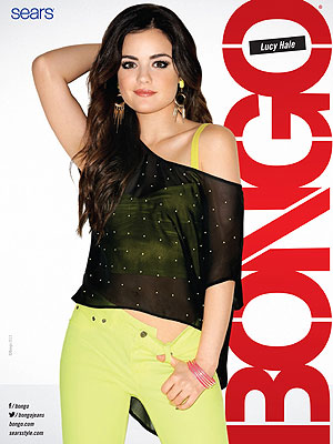 lucy hale 2 300x400 Lucy Hale Strips Down in New Bongo Campaign