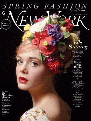 Elle Fanning NY Mag Cover