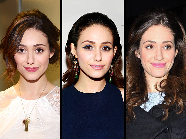 emmy rossum 660x450 Twenty Four Hours, Three Fab Beauty Looks: Emmy Rossum Shows Us How Its Done