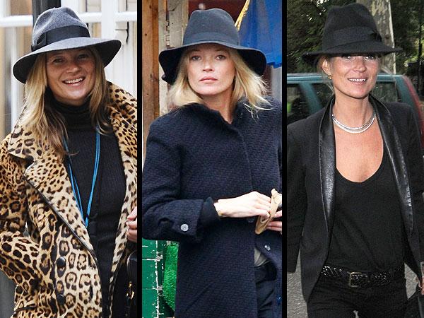 Kate Moss Hats